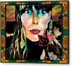 Joni Acrylic Print