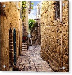 Joppa Israel Passageway Acrylic Print