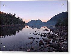 Jordan Pond Reflections - Acadia Acrylic Print by Stephen  Vecchiotti