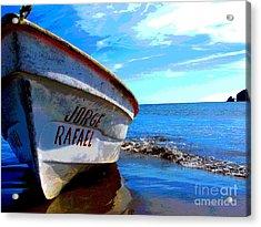 Jorge Rafael By Michael Fitzpatrick Acrylic Print by Mexicolors Art Photography