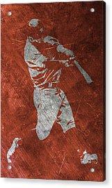 Jose Altuve Houston Astros Art Acrylic Print by Joe Hamilton