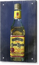 Jose Cuervo Tequila Acrylic Print