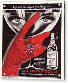 Jose Cuervo Tequila Experience The Delights Of A Margarita Acrylic Print