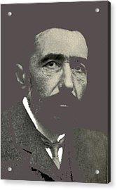 Joseph Conrad George Charles Beresford Photo 1904-2015 Acrylic Print by David Lee Guss