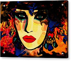Josephine Acrylic Print by Natalie Holland