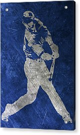 Josh Donaldson Toronto Blue Jays Art Acrylic Print