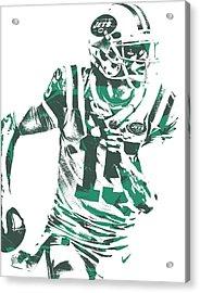 Josh Mccown New York Jets Pixel Art 1 Acrylic Print