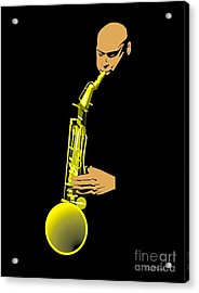 Joshua Redman Acrylic Print by Walter Oliver Neal