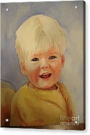 Joshua's Youngest Brother Acrylic Print by Marilyn Jacobson
