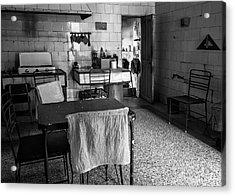 Acrylic Print featuring the photograph Josie's Kitchen Havana Cuba by Joan Carroll