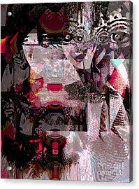 Journal Of Women's Studies Acrylic Print by Fania Simon