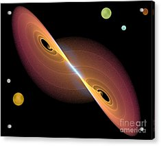 Acrylic Print featuring the photograph Journey Into Space by Jacqi Elmslie