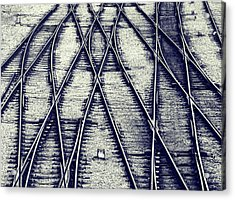 Journey Marks Acrylic Print