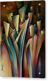 Journey Acrylic Print by Michael Lang
