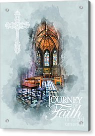 Journey Of Faith Acrylic Print