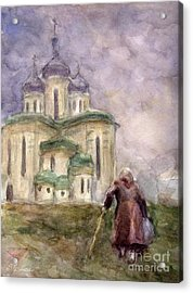 Journey Acrylic Print by Svetlana Novikova
