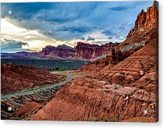 Journey Through Capitol Reef Acrylic Print