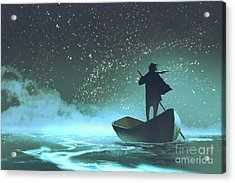 Journey To The New World Acrylic Print