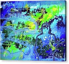 Journeyman Acrylic Print by Melissa Goodrich