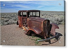 Acrylic Print featuring the photograph Journey's End by Gary Kaylor