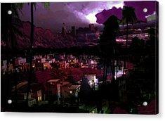 Journeys Through An Innocent Night Acrylic Print by Paul Sutcliffe