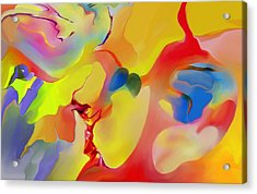 Joy And Imagination Acrylic Print by Peter Shor