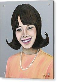 Joy Acrylic Print by Dean Glorso
