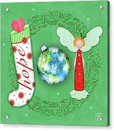 Joy Of Christmas Acrylic Print