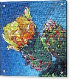 Joy Of Spring  Acrylic Print by Aleksandra Buha