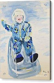 Joy Ride Acrylic Print