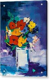 Bouquet Joyeux  Acrylic Print by Elise Palmigiani