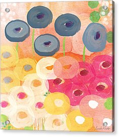 Joyful Garden 3 Acrylic Print