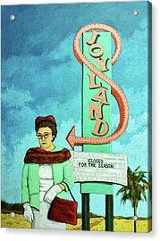 Joyland Acrylic Print