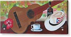 Joys Of Life Acrylic Print by Gloria E Barreto-Rodriguez