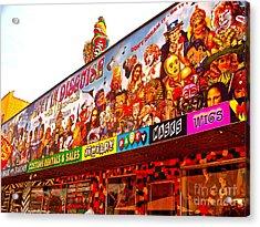 Joys Of Shopping 2 Acrylic Print by Chuck Taylor