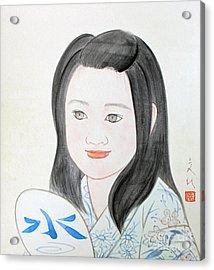 Jozen Mizu No Gotoshi Acrylic Print
