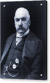 J.p. Morgan 1837-1913 American Banker Acrylic Print by Everett