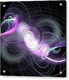 Jpk Digital Abstract 001 Acrylic Print
