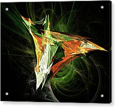 Jpk Digital Abstract 003 Acrylic Print