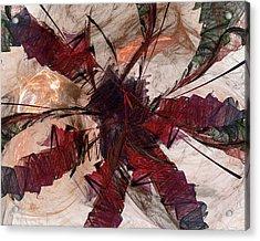 Jpk Digital Abstract 004 Acrylic Print