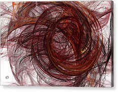 Jpk Digital Abstract 005 Acrylic Print