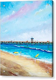 Jr. Lifeguards Acrylic Print