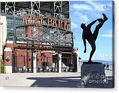 Juan Marichal At San Francisco Att Park . 7d7639 Acrylic Print by Wingsdomain Art and Photography
