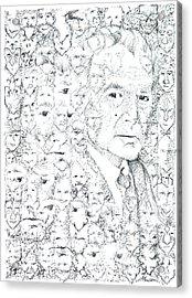 Juan Rulfo Sombra De Arreguin Acrylic Print