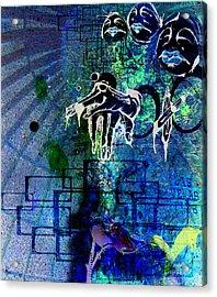 Judges At The Gates Acrylic Print by Mark M  Mellon