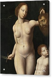 Judith And The Infant Hercules  Detail Acrylic Print