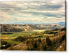 Judith River Breaks Acrylic Print