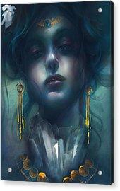 Judith V1 Acrylic Print by Te Hu