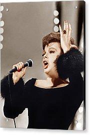 Judy Garland, Ca. 1960s Acrylic Print by Everett