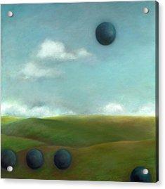 Juggling 2 Acrylic Print